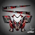 Polaris IQ RMK Shift Dragon Graphics Decal Wrap 05-12 with Tunnel Outlaw Red