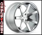 """20"""" Ferrada FR1 Machined Silver 20x9 20x10.5 Concave Wheels for G37 Sedan"""