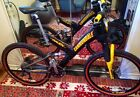 VERY RARE BRAND NEW, NEVER USED Cannondale Mountain Bike Carbon Fiber Super Rave
