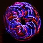 6 LED Violet Storm Orbit Rave Night Show Waving Circling Around Brand New Unisex