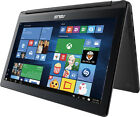 """Asus 2-in-1 15.6"""" Touch-Screen Laptop Intel Core i7 8GB Memory 1TB HDD Hairline"""