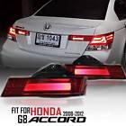 For Honda Accord Sedan 2008-12 Red LED Trunk Light (For Japan Type Back Garnish)