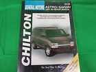 1985-96 Astro / Safari Chilton Books auto Repair Manual book GM 28100
