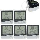 5x Digital LCD Thermometer Hygrometer Temperature Humidity Meter Gauge Alarm New