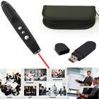 Wireless USB Presenter Powerpoint Presentation Remote Clicker Laser Pointer PPT