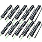 10 X 10Miles Range 532nm Powerful Green Laser Pointer Light Pen Visible Beam