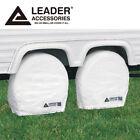 "2pcs RV Tire/ Wheel Covers Camper Trailer Truck Car 27"" 28"" 29"" diameter"