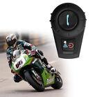 BT Motorcycle Helmet Motor Headset 500M Bluetooth Motorbike Interphone Intercom