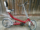 Giant Revive Bike Red Semi Recumbant  Collectible