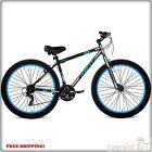 "Men's 29"" Mountain Bike Cruiser Bicycle Sturdy Aluminum Frame 21 Spe Lightweight"
