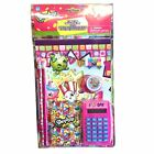 Shopkins 7-Piece Calculator Stationery Set