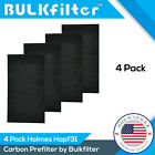 Holmes  HAPF31 Activated Carbon Pre Filter 4-pack By BulkFilter Brand