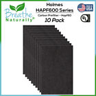 """Holmes GE Bionaire HAPF60 Carbon Pre Filter (10 filters) 6""""x9.25"""" by BulkFilter"""