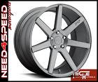 "19"" Niche Verona M149 Graphite Concave Wheels for W219 CLS500 CLS550"