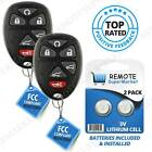 Replacement for Chevy Tahoe Traverse GMC Yukon Remote Key Fob 6b Pair