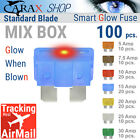 Fuse STANDARD blade smart regular fuse automotive LED Glow Blown ATO ATC MIX SET
