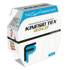 "Kinesio Tape, Tex Gold FP, 2"" x 34 yds, Blue, Bulk Roll  1 EA"