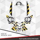 SLED WRAP DECAL STICKER GRAPHICS KIT FOR SKI-DOO REV MXZ SNOWMOBILE 03-07 SA0125
