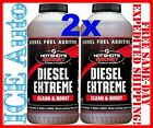 2 PACK - Hot Shots DIESEL EXTREME 32 oz Diesel Fuel Detergent Booster Cleaner