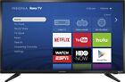 """Insignia- 32"""" Class (31.5"""" Diag.) - LED - 720p - Smart - Roku TV - Black"""