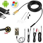 10M/5M/2M Android Endoscope USB IP67 Waterproof Borescope Inspection camera 6LED