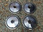 "Set of 4 OEM 1972-1979 Lincoln Continental Mark IV V 15"" Hubcaps Wheel Covers"