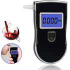 Portable Breath Alcohol Analyzer Tester Breathalyser Test Detector w Mouthpieces