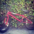 2008 Haro X1 Matte Red Dirt Bike