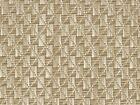 Vinyl Boat Carpet Flooring w/ Padding : Gemstones - 01 Tan / White : 8.5' x 7'