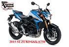 2015 Suzuki GS  New 2015 Suzuki GSX-S750 750 GSXS 750 Blue/White LE 1.59 APR cll 866-392-4531