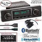 RetroSound Long Beach-B Radio/BlueTooth/iPod/USB/Mp3/RDS/3.5mm AUX-In-502-36-VW