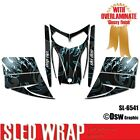 SLED WRAP DECAL STICKER GRAPHICS KIT FOR SKI-DOO REV MXZ SNOWMOBILE 03-07 SL6541