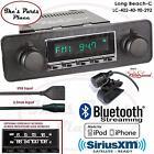 RetroSound Long Beach-C Radio/BlueTooth/iPod/USB/RDS/3.5mm AUX-In-402-40-BMW