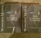 2009 EXPEDITION LINCOLN NAVIGATOR WORKSHOP SERVICE MANUALS VOL 1&2