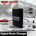 Car Adapter MP3 AUX SD USB Music CD Changer for Fiat Qubo Punto CC DA EVO Panda