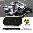 BT 1200M Motorcycle Headset Helmet Interphone VOX Bluetooth Intercom EJEAS E6 x1