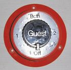 GUEST BATTERY SWITCH OFF /1 / BOTH / 2 IGNITION PROTECTED 6,12,24,32 VOLTS