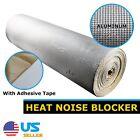 """252""""x39""""=70sqft Heat Insulation Sound Deadener Aluminum Material Foil Mat Sheet"""
