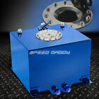 8 GALLON/30.5L BLUE COAT ALUMINUM RACING/DRIFT FUEL CELL GAS TANK+LEVEL SENDER
