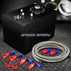 12 GALLON TOP-FEED COATED FUEL CELL GAS TANK+CAP+LEVEL SENDER+NYLON LINE KIT