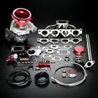 T04E STAGE II TURBO CHARGER MANIFOLD UPGRADE KIT BOOST FOR 03-08 GK GS 2.0 DOHC