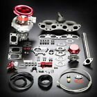SR20 T04E STAGE II TURBO CHARGER CAST MANIFOLD UPGRADE KIT FOR 240SX S13/S14 SR