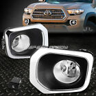 FOR 16-17 TOYOTA TACOMA PICKUP CLEAR LENS OE DRIVING PAIR FOG LIGHT LAMP+SWITCH
