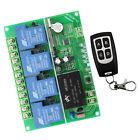 AC220V-380V 4CH Relay RF Wireless Remote Control Switch Receiver Transmitter