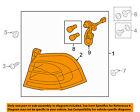 KIA OEM 12-16 Rio-Taillight Tail Light Lamp Assy Left 924011W220
