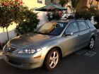 2004 Mazda Mazda6 S Wagon 5-Door Green color, 1 OWNER, excellent condition, clean title