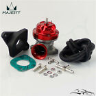Turbo FV RZ RS Blow Off Valve BOV + Flange Adapter For Skyline R32 R33 R34 Red