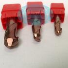 3Pcs Solid Carbide Long Ball Nose End Mill Radius 5mm 2Flute 10MM Shank CNC Tool