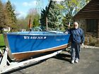 1947 Chris Craft rocket wood classic runabout