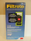 3 M Filtrete Room Air Purifier Replacement Filter Model C, # 0560937